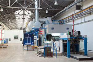 Оборудование завода Metal Print
