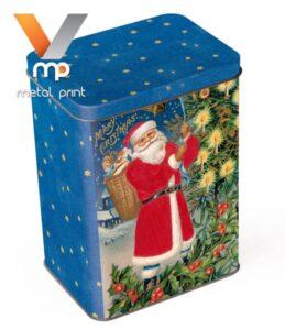 Літографія жерсті для коробки з новорічними подарунками