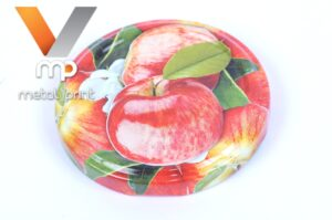 """Lid Twist-off 66, lithograph """"Apples"""""""