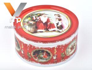 Літографія і лакування жерсті для упаковки новорічних подарунків